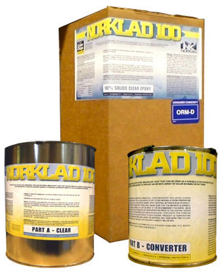 Norklad 100 - 100% Solids UV Stable Epoxy Clear Coat