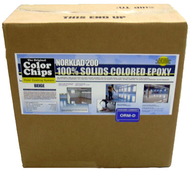 "Norklad 200 - 100% Solids Epoxy ""Fast Cure"" Colored Base Coat"