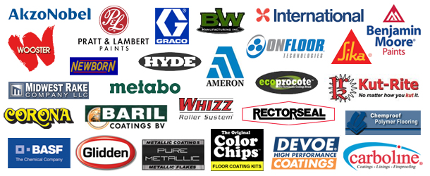 Brands carried by Epoxy Superstore