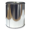 Empty Metal Paint Can W/Lid & Handle