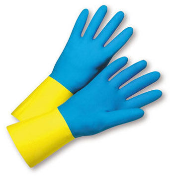 Rubber Protective Gloves