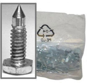 Midwest Rake - 3/4 inch Replacement Steel Spikes (set of 26)