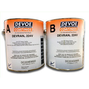 Devoe Devran® 224v Colored Epoxy - Solvent Based 400+ sq ft