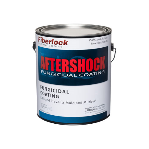Fiberlock Aftershock Fungicidal Coating Mold Resistant Paint 5 Gal