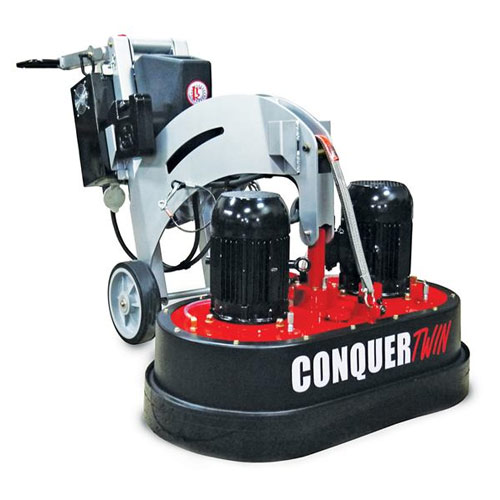 Kut Rite Conquer Twin Concrete Floor Grinder And Polisher