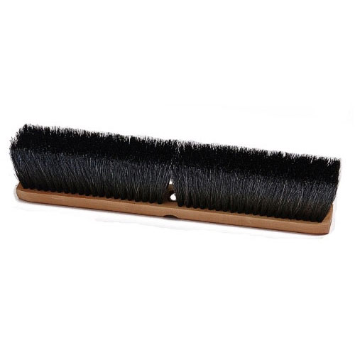 "24"" Stiff Push Broom Head"