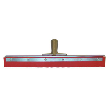 Magnolia Epoxy Floor Squeegee - Notched Rubber 36''