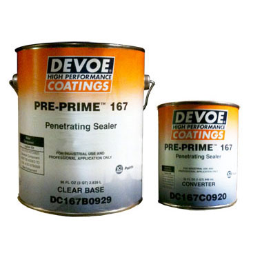 Devoe Pre Prime 167 Penetrating Epoxy - 100% Solids - 1 Gal