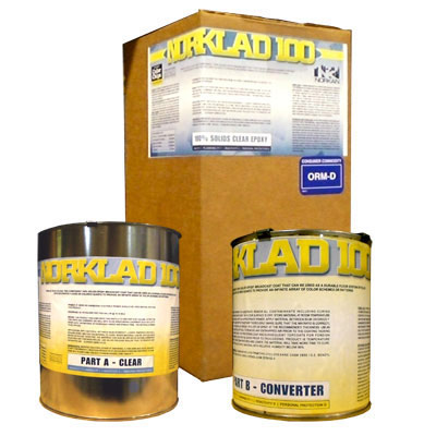 Epoxy Floor Coating - 100% Solids